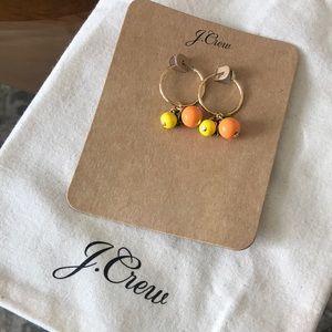 Jcrew citrus earrings